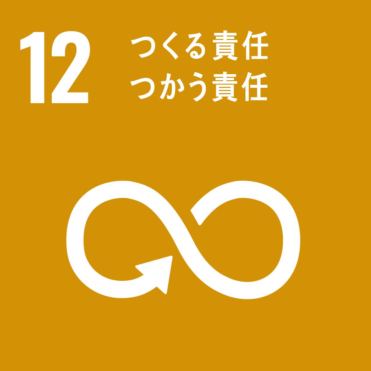 SDGsアイコン12.つくる責任つかう責任
