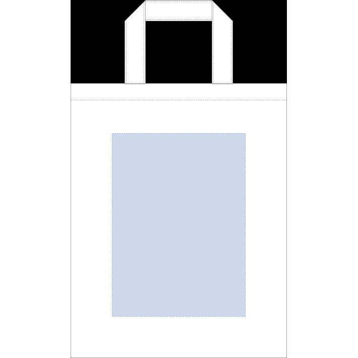 オーガニックコットンA4フラットバッグ ナチュラル