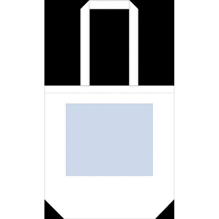 オーガニックコットンバッグ(M)ナチュラル