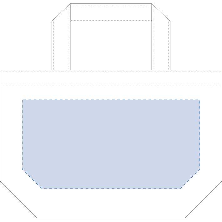 オーガニックコットンキャンバストート(S) ナチュラル