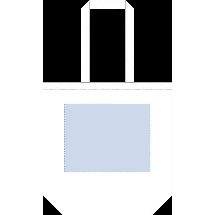 オーガニックコットンキャンバストート(M) ナチュラル 内ポケット