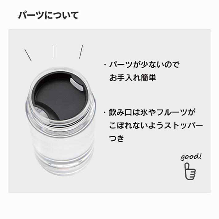 スリムクリアボトル(S)300ml