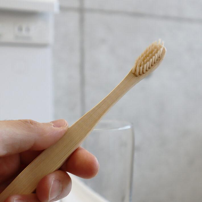 竹歯ブラシ(平型)(BALIISM)