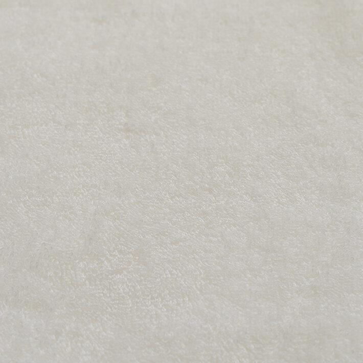 オーガニックコットンホワイトパイル生地